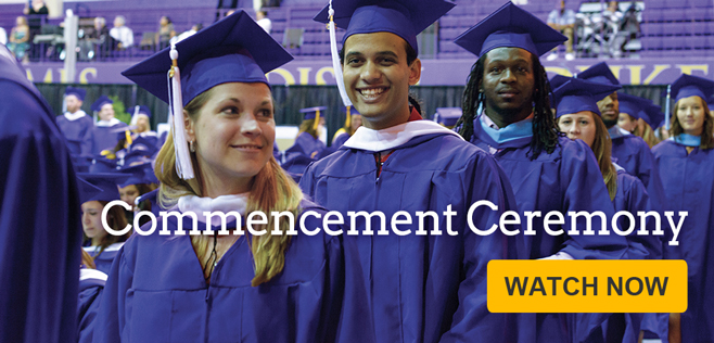 Watch the Commencement Stream!