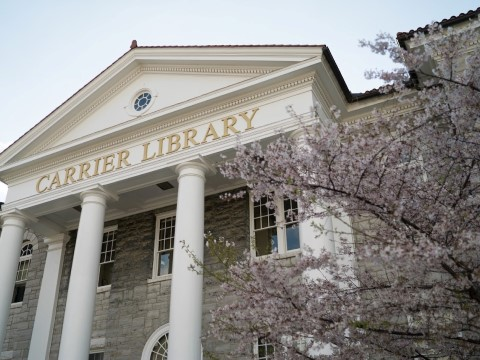 photo of Carrier Library