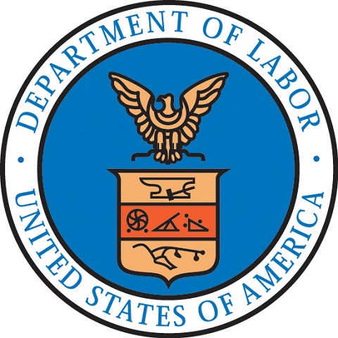 Official seal for the Department of Labor