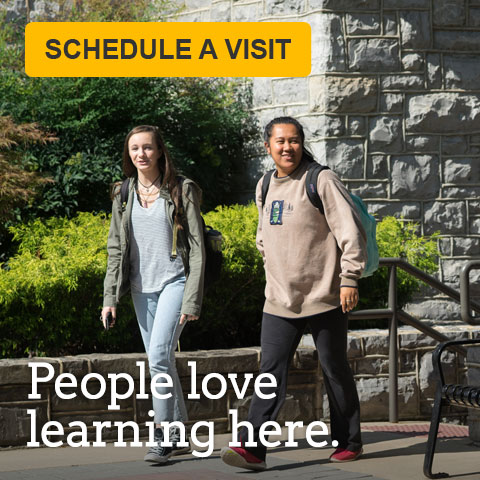 Schedule a visit. People love learning here.