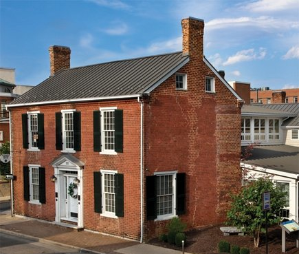 The Hardesty Higgins House is home to Harrisonburg's tourist center