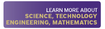 Learn more about science, technology, engineering, mathematics icon