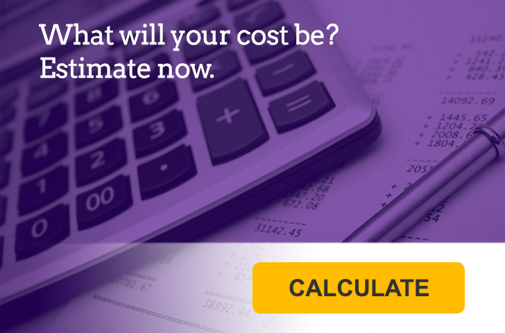 What will your cost be? Estimate now.