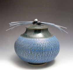 Nancy Ross Crackle Jar