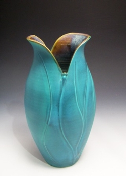 Nancy Ross Pottery Vase