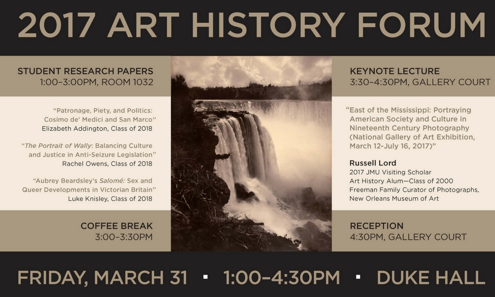art history forum itinerary