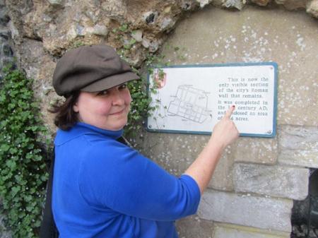 Kate Stevens in Winchester, England