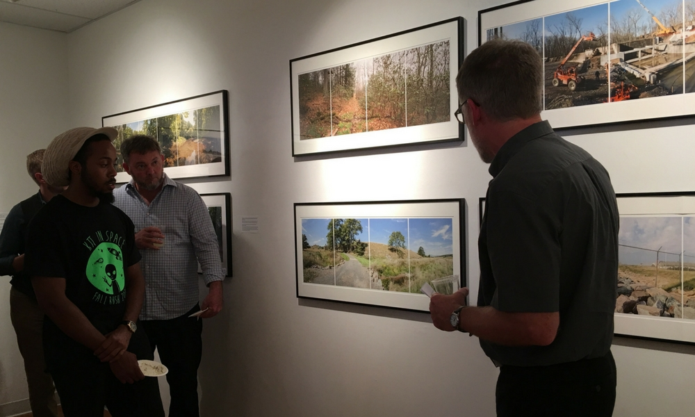 Opening reception for Scott Jost exhibit