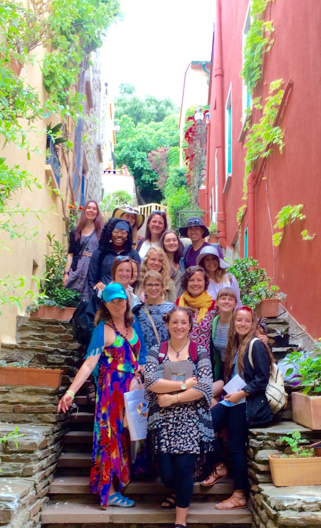 Agnes Carbrey's 2016 class Painting in Southern France