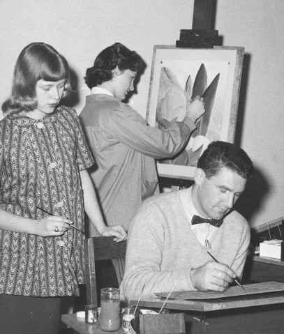 JMU art students from the 1950s