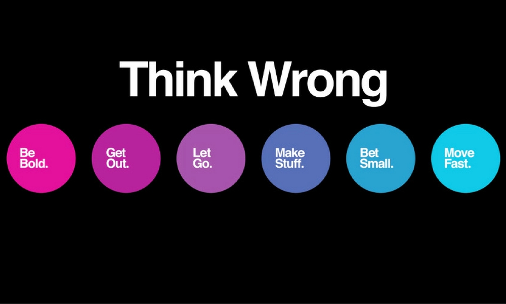 Stages of thinking wrong