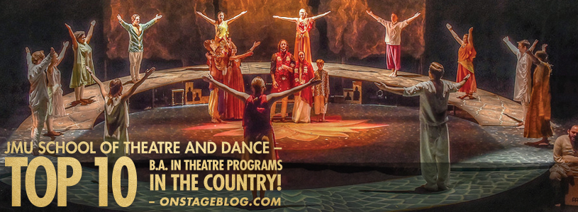 Join a Top 10 B.A. in Theatre program in the country