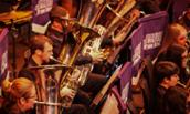 JMU Brass Band Perform at RNCM Festival
