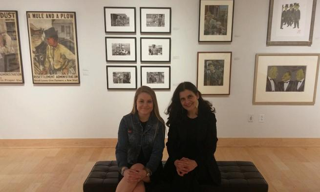 image: /_images/arts/2016-2017/professor-laura-katzman-and-meagan-stuck-655x393.jpg