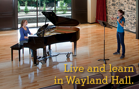 Wayland Hall Living-Learning Arts Community