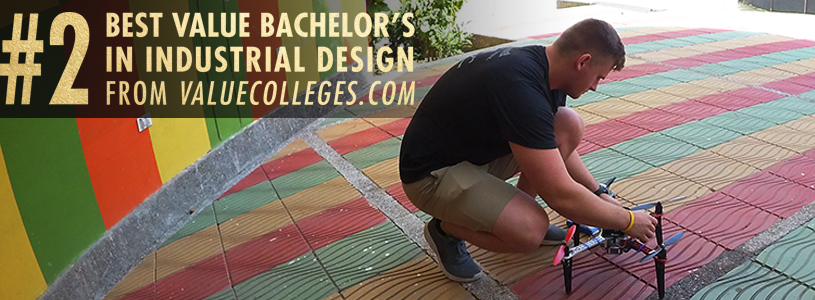 Major in a highly-rated Industrial Design degree