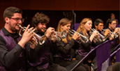 JMU Brass Band Performs Onstage with Cory Band Thumbnail