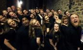 JMU Madison Singers React to Performing with a Pro