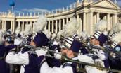 A Recap of Rome: MRDs Take to the Streets for New Year's Day Parade