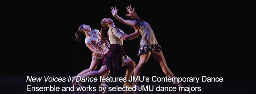 Present and perform choreography in main stage dance concerts