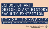 SADAH Faculty Exhibition Thumbnail