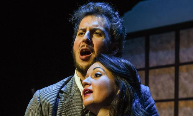 La Boheme photo by Richard Finkelstein