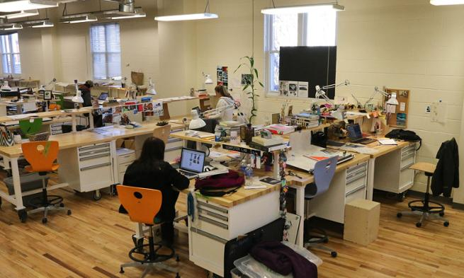 Studio Design Center classroom