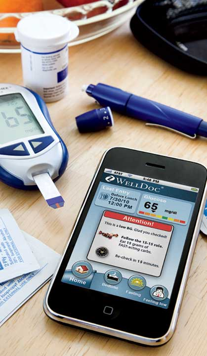 WellDoc's Diabetes Manager