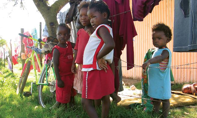 25:40 helps the children in South Africa get access to health care and a good education