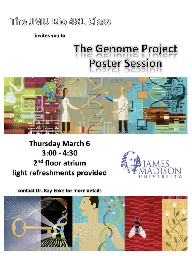 Genome Project flyer