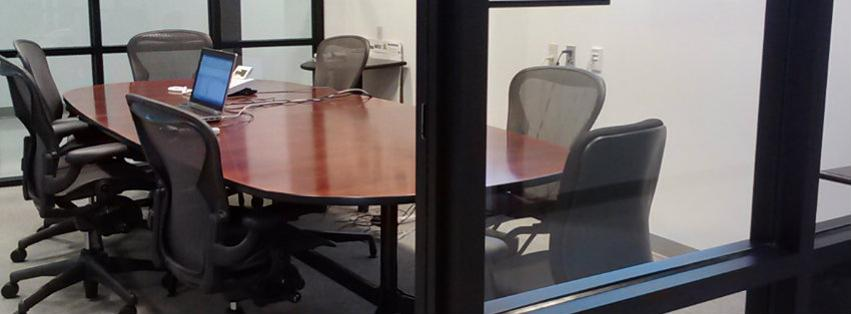 "Image: The ""Fish Bowl"" Conference Room"