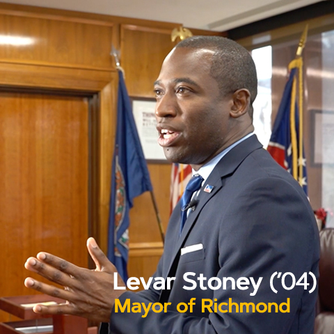 Levar Stoney ('04) Being the Change