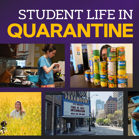 JMU SMAD students document life in quarantine