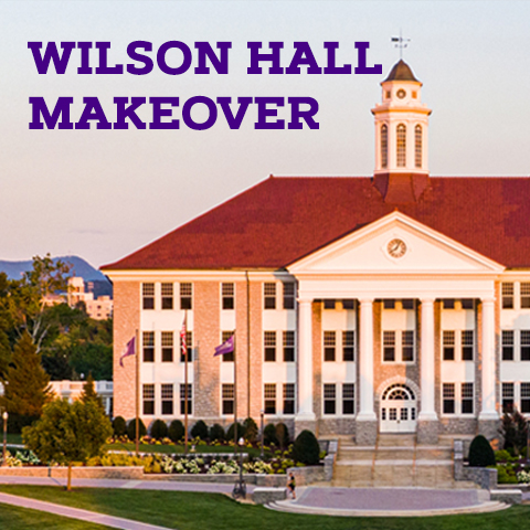 Wilson Hall Makeover