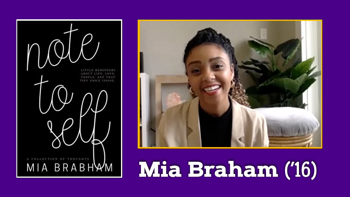 Author Mia Brabham ('16) Shares the Power in the In-Between
