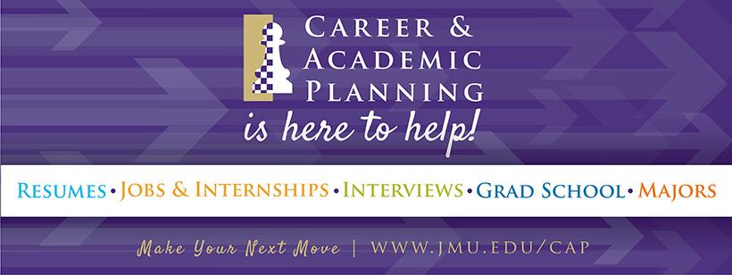 james madison university career academic planning