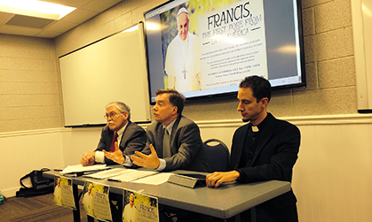 pope francis panel