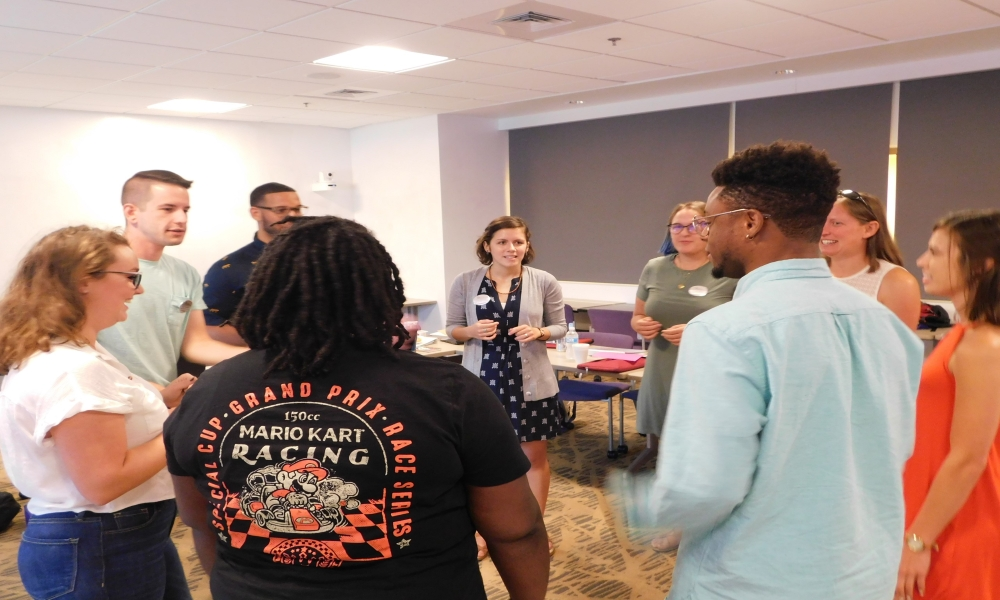 Graduate Assistants learn leadership in Training