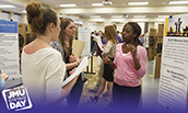 PHOTO: JMU students present research