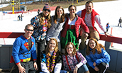 JMU students volunteer at ski resort