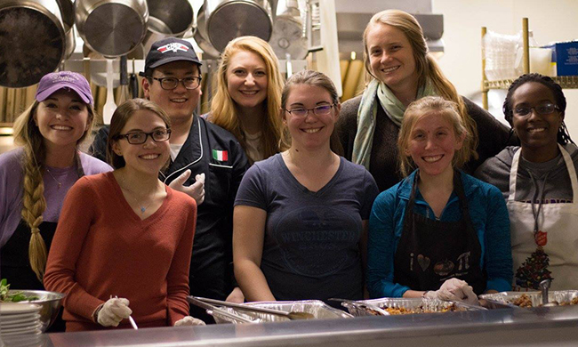 PHOTO: JMU Students formed Campus Kitchen