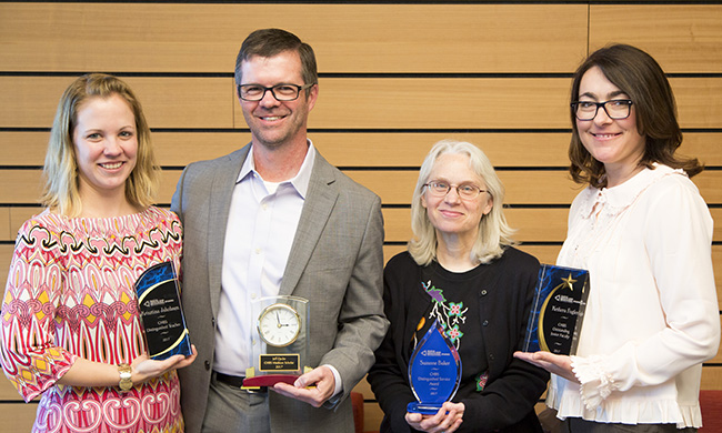 PHOTO: CHBS Faculty awards