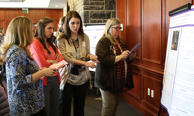 JMU Students attend symposium