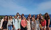 JMU Nursing students in Spain