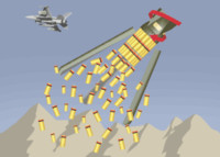 Cluster Munition Illustration