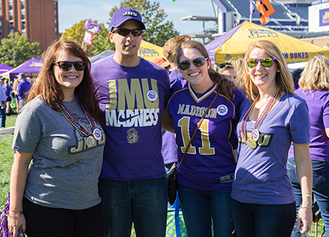 Connect with the JMU Alumni Association
