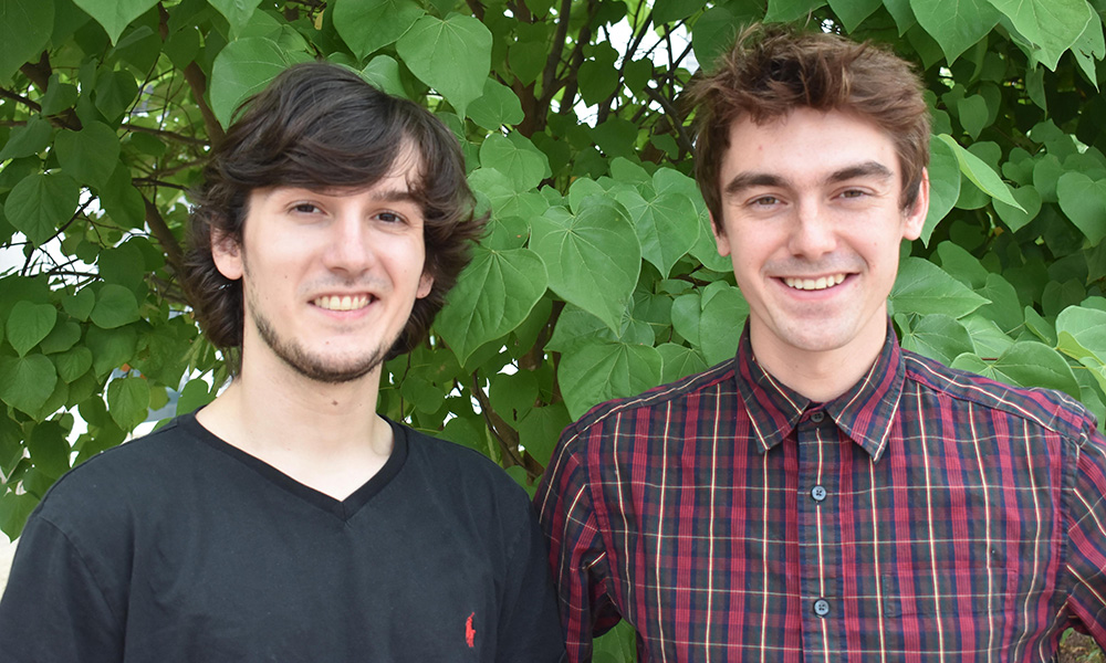 WaveStream startup - Edward Reynolds ('19), Aiden Cappello ('18)