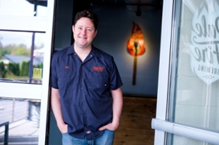 Tim Brady, co-owner of Pale Fire Brewing Company