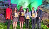 Alexandra Sword wins scholarship to Disney Data Conference - Photo by Elaine Mulhall
