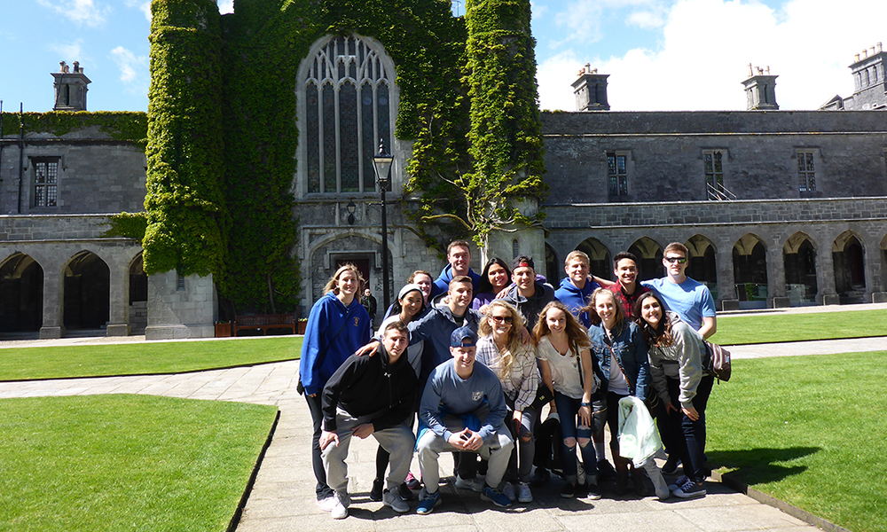 CIS Students in Ireland exploring CIS industry - 2017